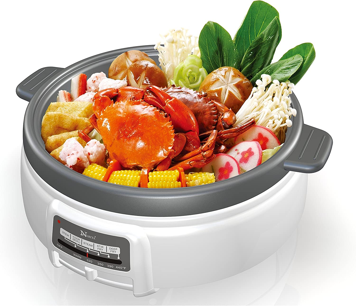 Electric Multi-Cooker Shabu Shabu hot pot by Narita