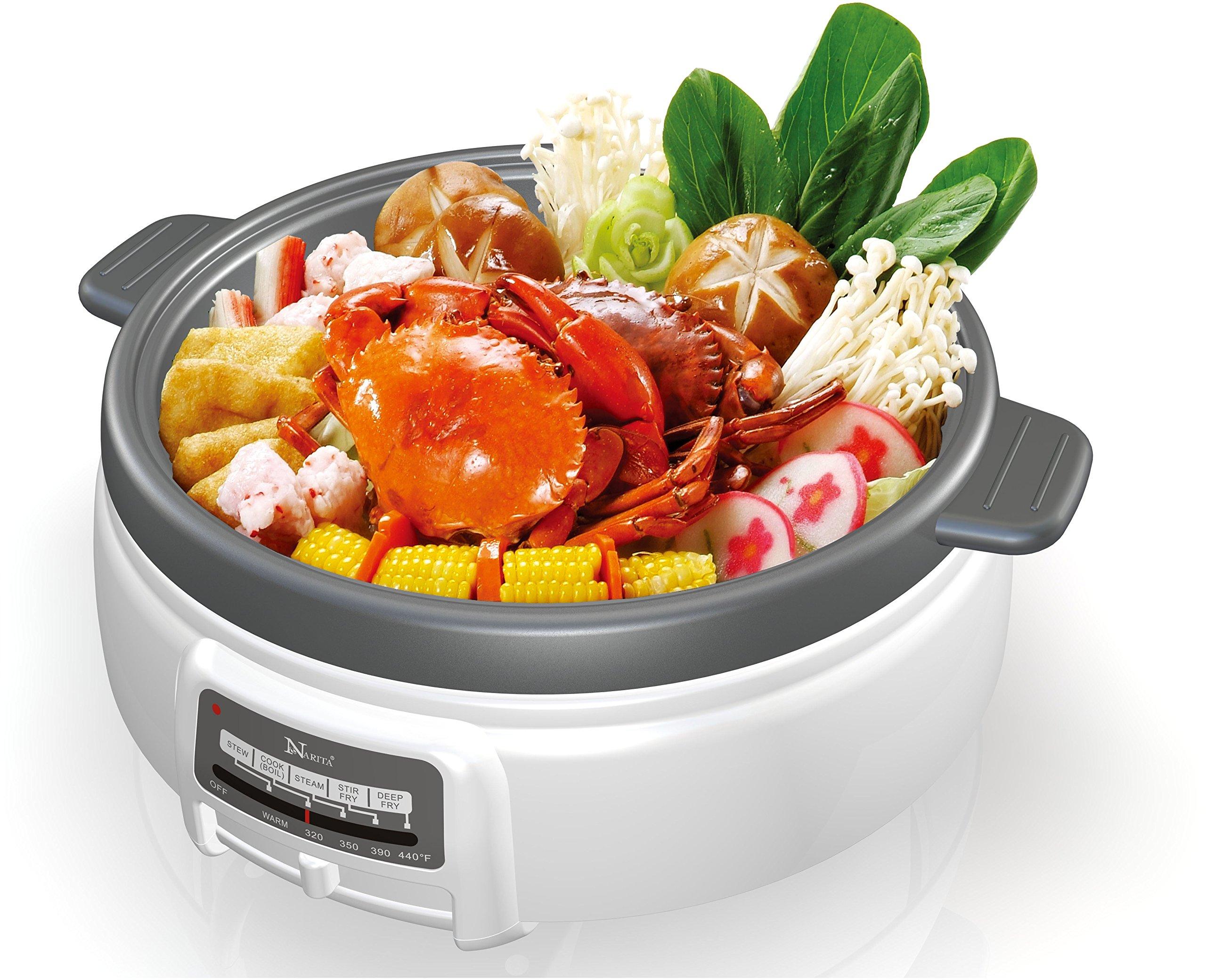 Electric Multi-Cooker Shabu Shabu hot pot by Narita