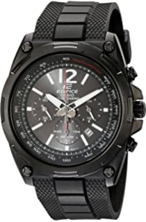 Casio Mens EFR-545SBPB-1BVCF Edifice Tough Solar Black Watch