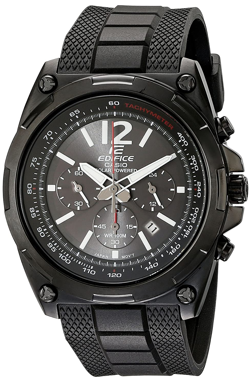 e8d4f8a22 Amazon.com: Casio Men's EFR-545SBPB-1BVCF Edifice Tough Solar Black Watch:  Watches