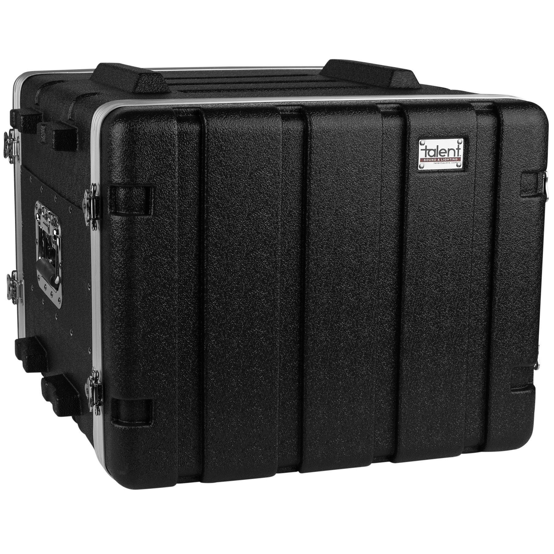 Talent RC8U19 ABS Rack Case 8U 19'' Depth