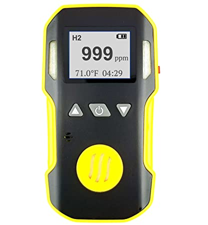 HYDROGEN H2 Gas Detector, Meter & Analyzer by FORENSICS | Professional Series | Water,