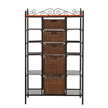 drawers wrought drawer with iron pictures rack bakers