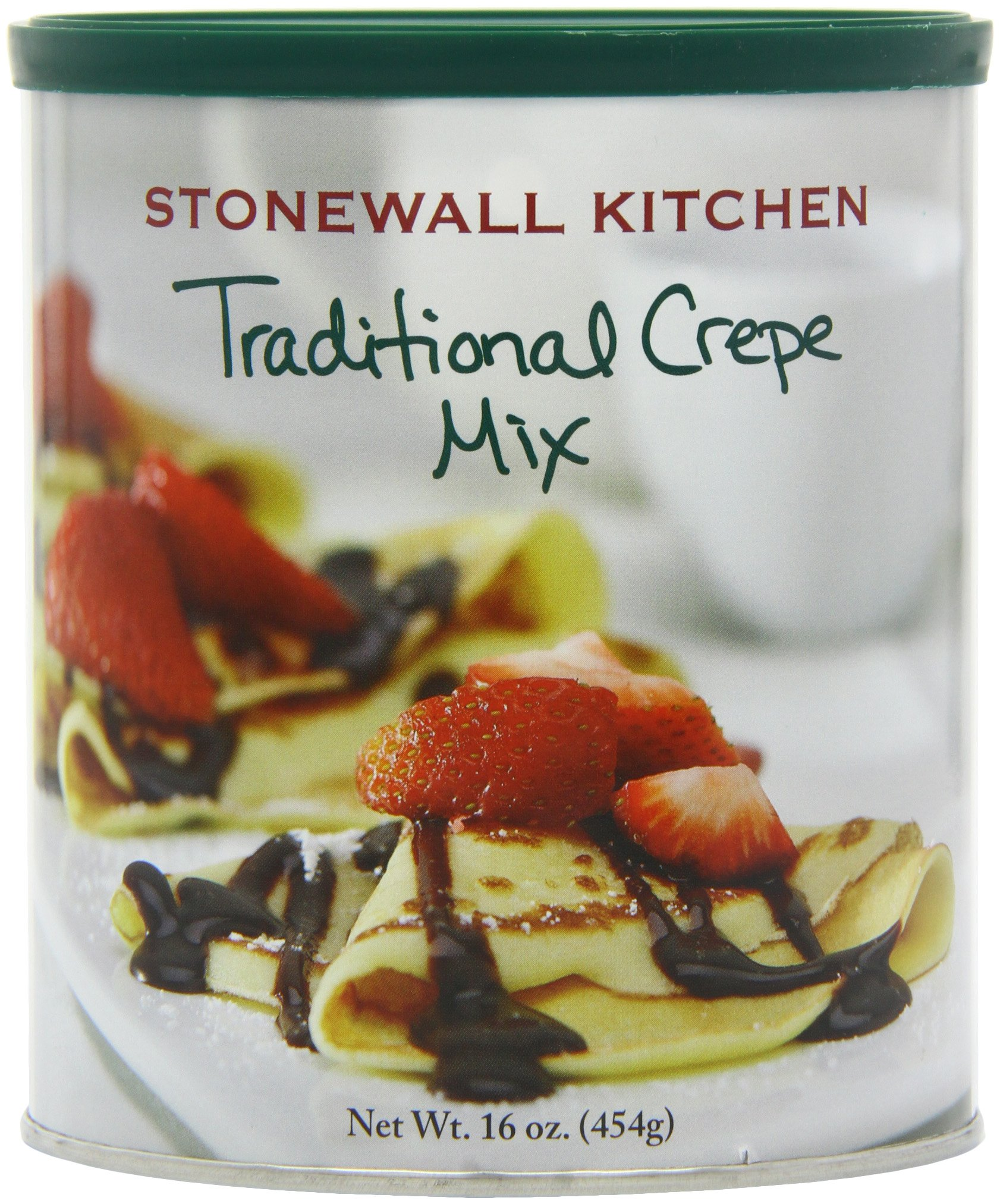 Stonewall Kitchens, Traditional Crepe Mix, 16-Ounce Canisters (Pack of 4) by Stonewall Kitchen (Image #1)