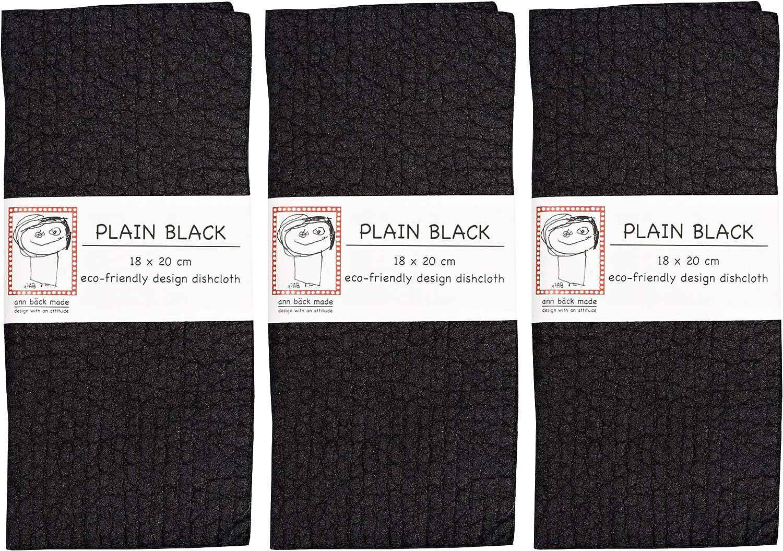 Jangneus Black Hen 100/% Biodegradable Swedish Dishcloth 20cm x 18cm
