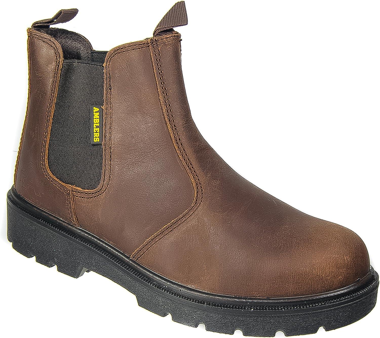 Amblers Mens Dealer Safety Work Boots