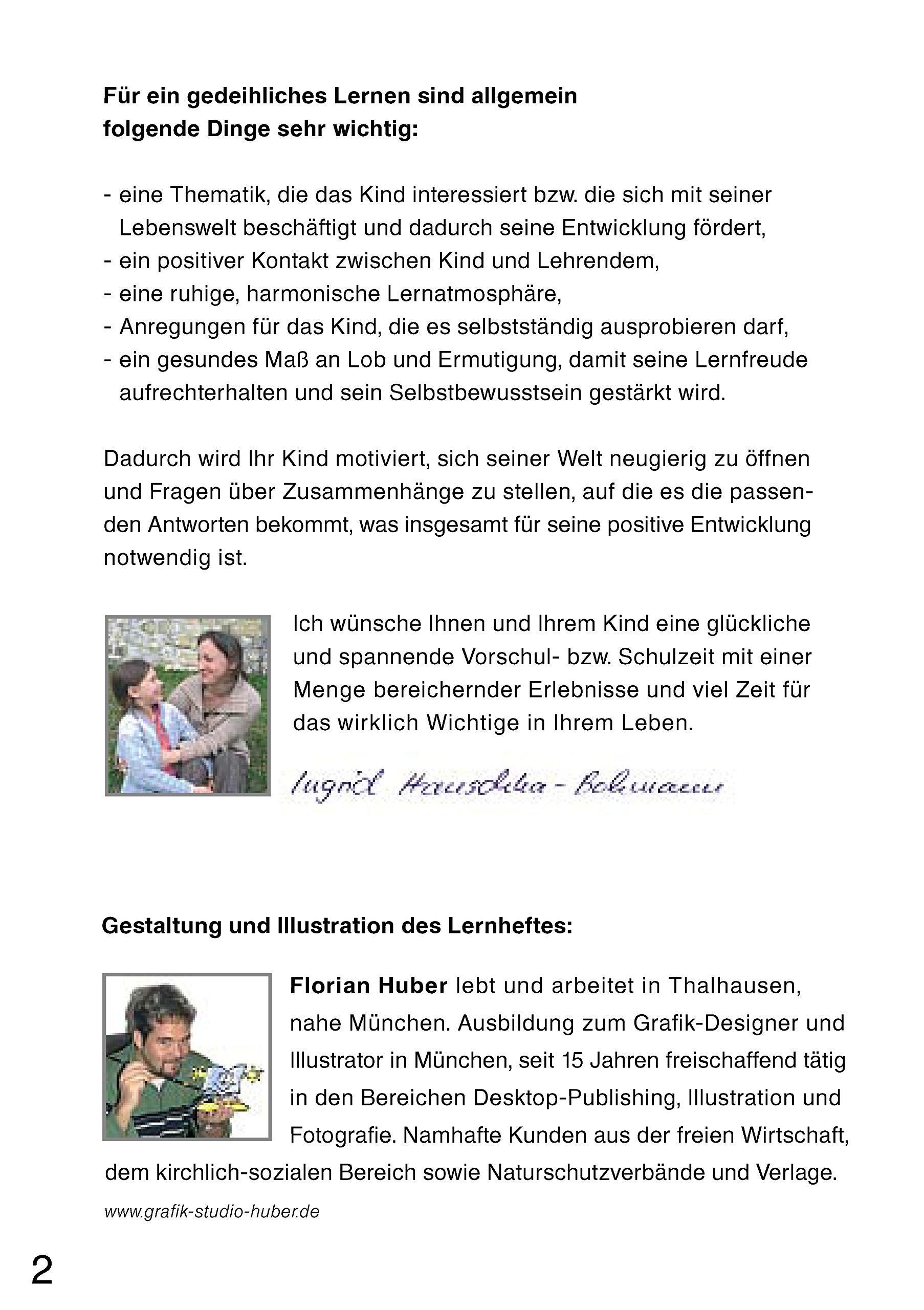 Unsere vier Jahreszeiten. Vorschule und die 1. Klasse: Amazon.de ...