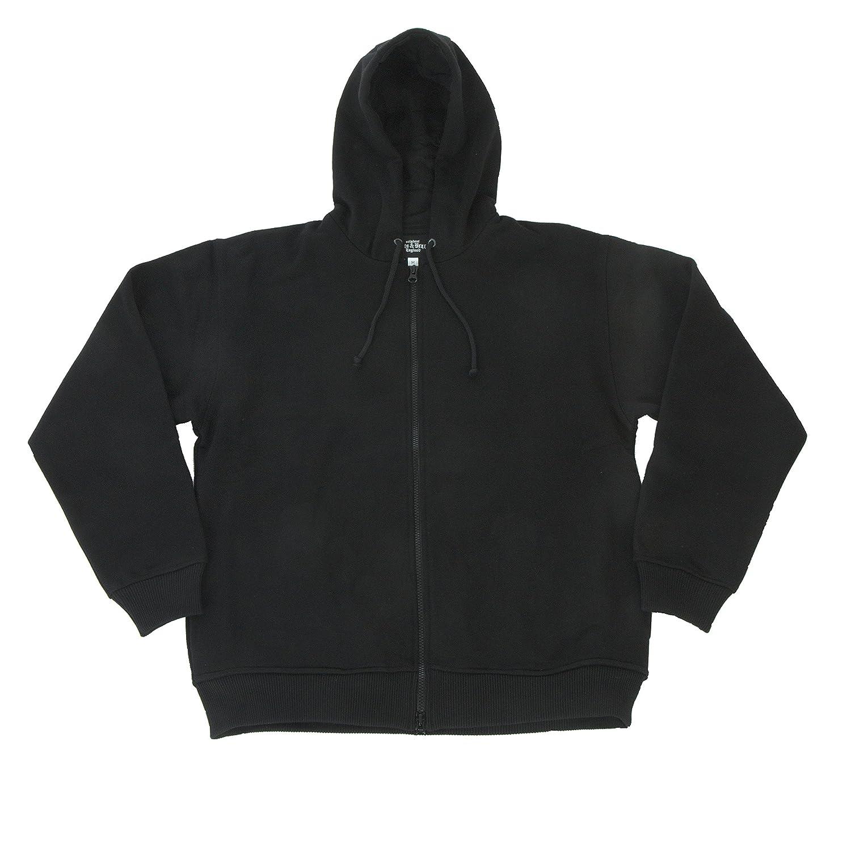 Stiefel & Braces Premium Zip-Hoody Kapuzenpullover mit Reißverschluß
