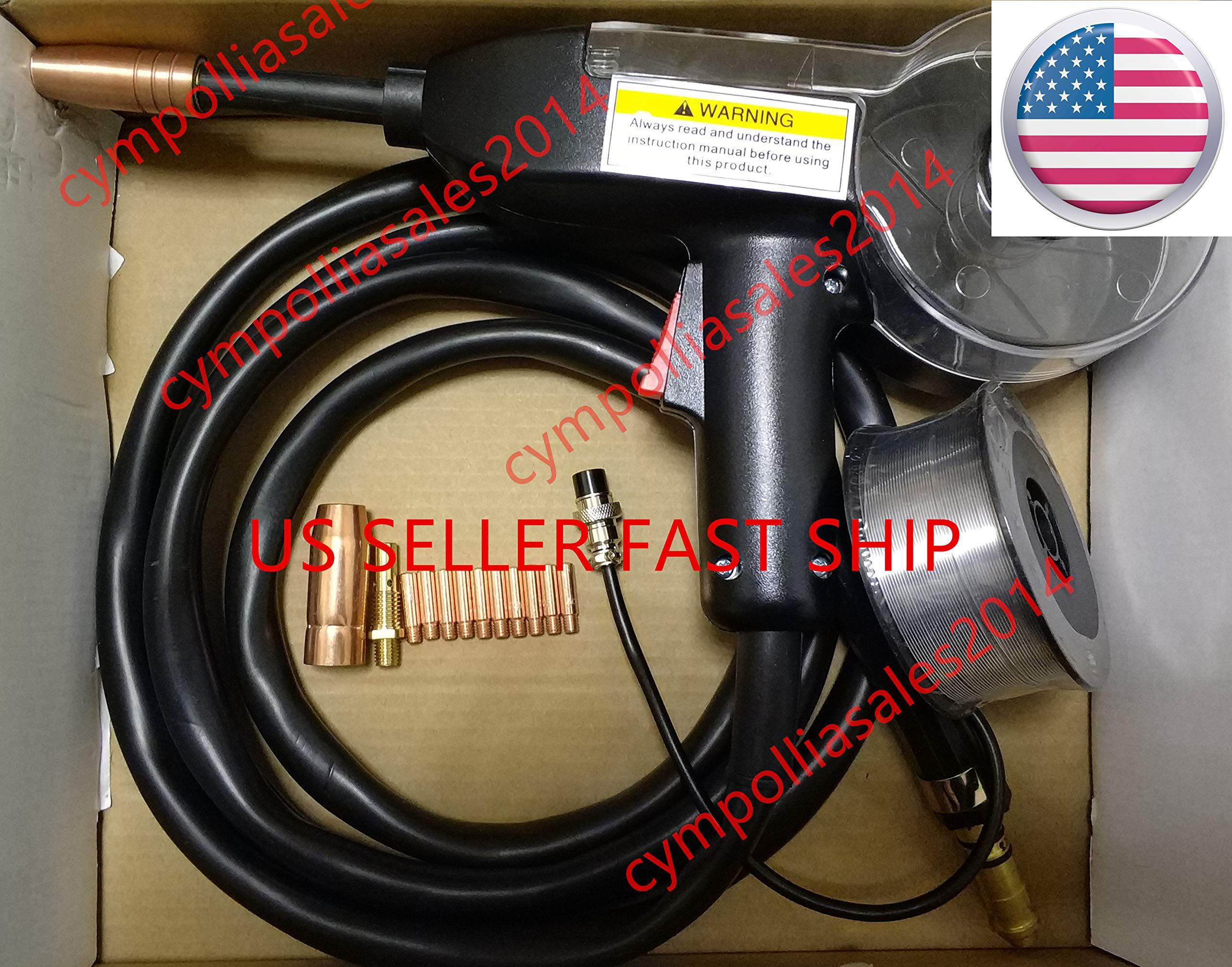 US SELLER MIG Spool Gun 10' for Eastwood MIG 135/175/250, MP 250i aluminum wire(ETA: 2-8 work days) by CYMPOLLIA2016