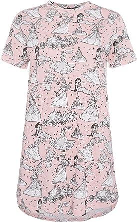Primark - Camisón - para Mujer Rosa Rosa S: Amazon.es: Ropa