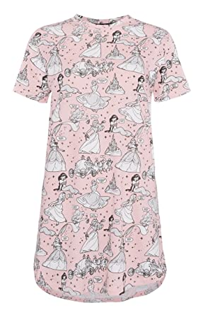 Primark Ladies Girls Disney Princess Womens Nightdress Long T-Shirt ... dc4dede38d