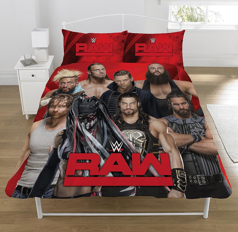 WWE Raw Vs Smackdown Reversible Duvet Cover Set