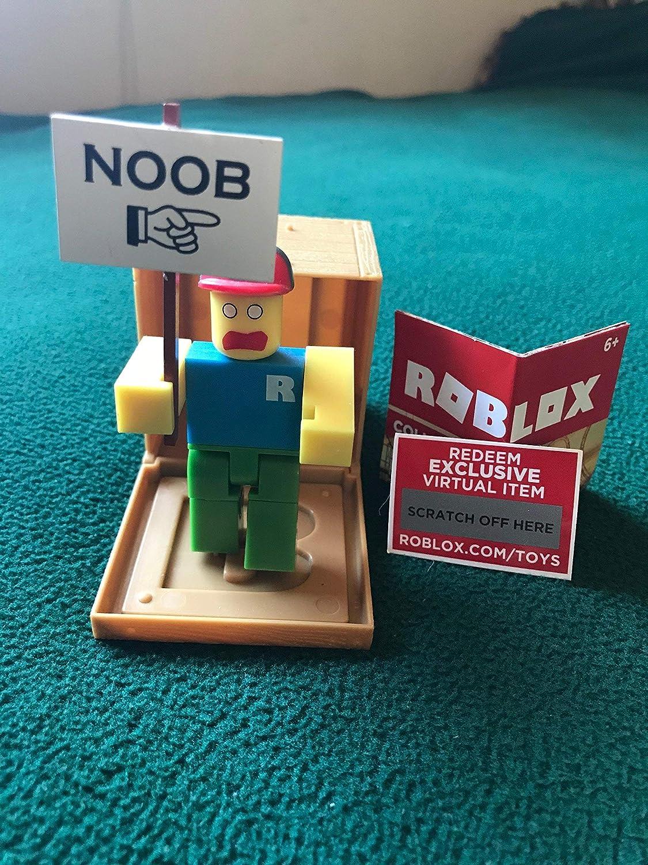 Amazon Com Roblox Series 1 Classic Noob Action Figure Mystery Box