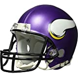 Riddell - Réplica de casco de fútbol americano, diseño de los Minnesota Vikings