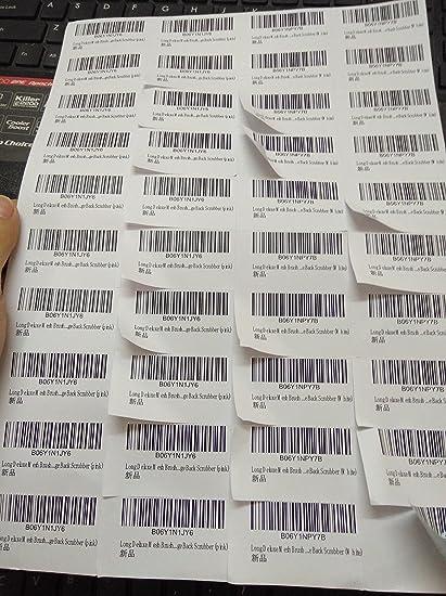 Amazon com : Amazon FBA Label 52 5x29 7 Mm(1 17 X 2 06
