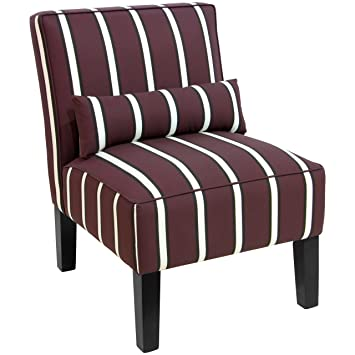 Superbe Skyline Furniture 5705BLKDRSTRSNOGA Accent Chair, One Size