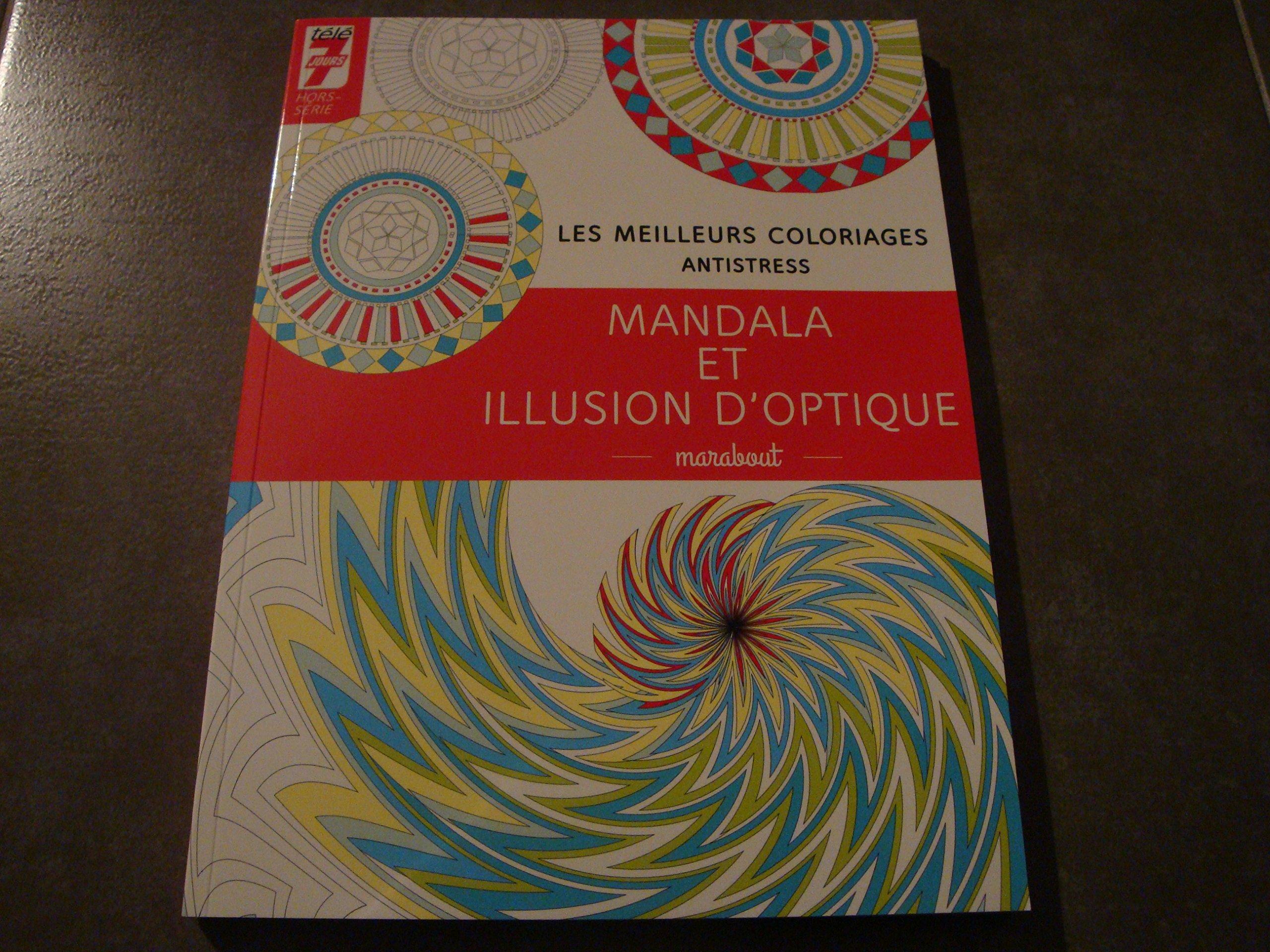 Coloriage Anti Stress Illusion Doptique.Amazon Fr Les Meilleurs Coloriages Antistress Mandala Et Illusion