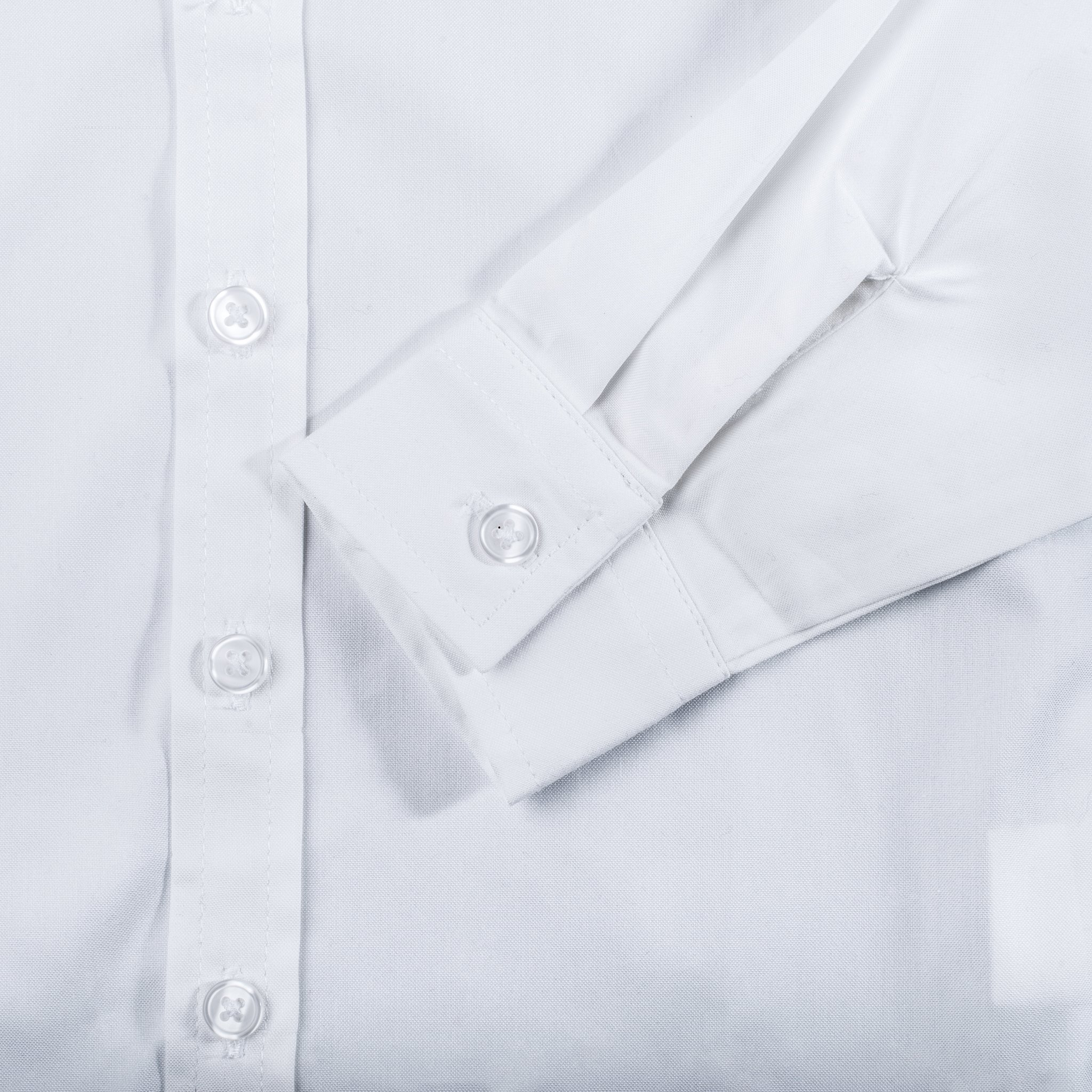 Born to Love - Wedding Baptism Birthday White Button-Up Shirt - Infant, Toddler & Boys 2T by Born to Love (Image #4)