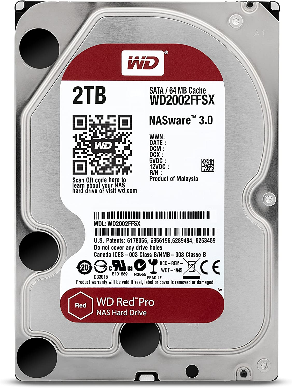 WD4001FFSX - bulk WD Red Pro 3.5 Disque dur interne pour NAS 8 /à 16 baies 4 To 7200 RPM 64 Mo SATA 6Gb//s
