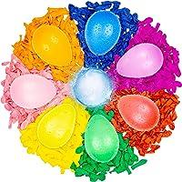 Belmalia 1000 Stuks Gekleurde Waterballonnen - Waterbommen – Watergevecht - Gemakkelijk te Vullen