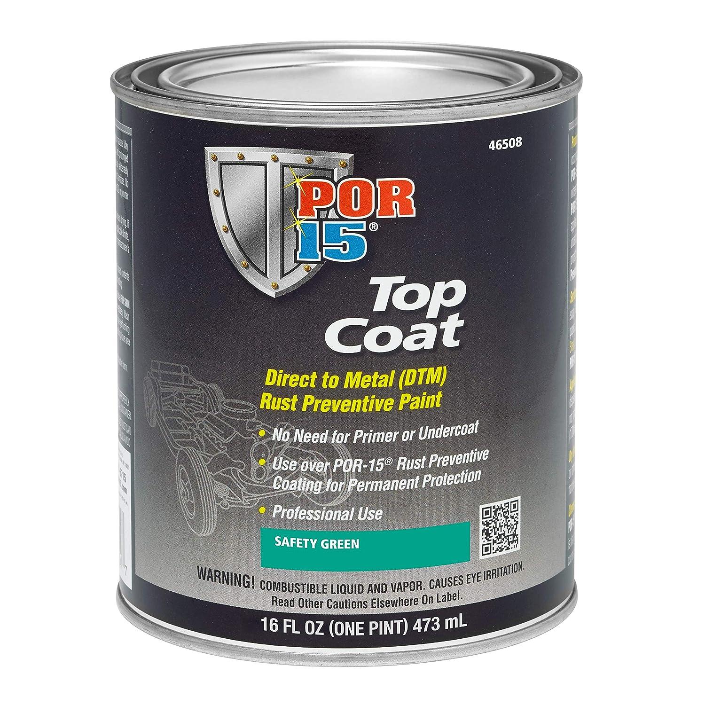 Top Coat Paint >> Por 15 46804 Top Coat Gloss White Paint 32 Fluid Ounces