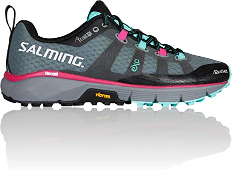 Salming Women Trail 5 Trail Running Shoe Running Shoes Grey - Pink 4,5: Amazon.es: Deportes y aire libre