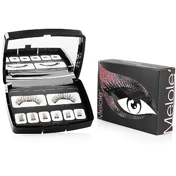 Amazon.com: Melole Pestañas magnéticas de ojos completos ...
