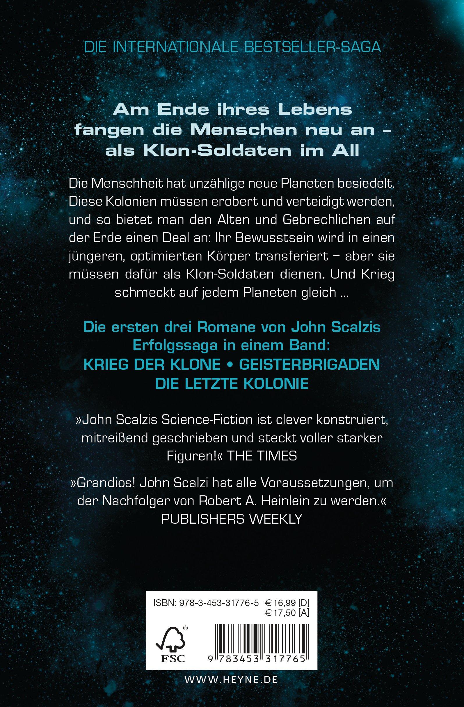 Krieg Der Klone   Die Trilogie: Drei Romane In Einem Band: Amazon.de: John  Scalzi, Bernhard Kempen: Bücher