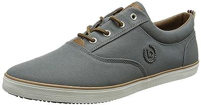 Mens F48136 Low-Top Sneakers, Grey (Grey 160), 11 UK Bugatti