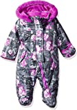 Wippette Baby Girls Floral Snowsuit Pram