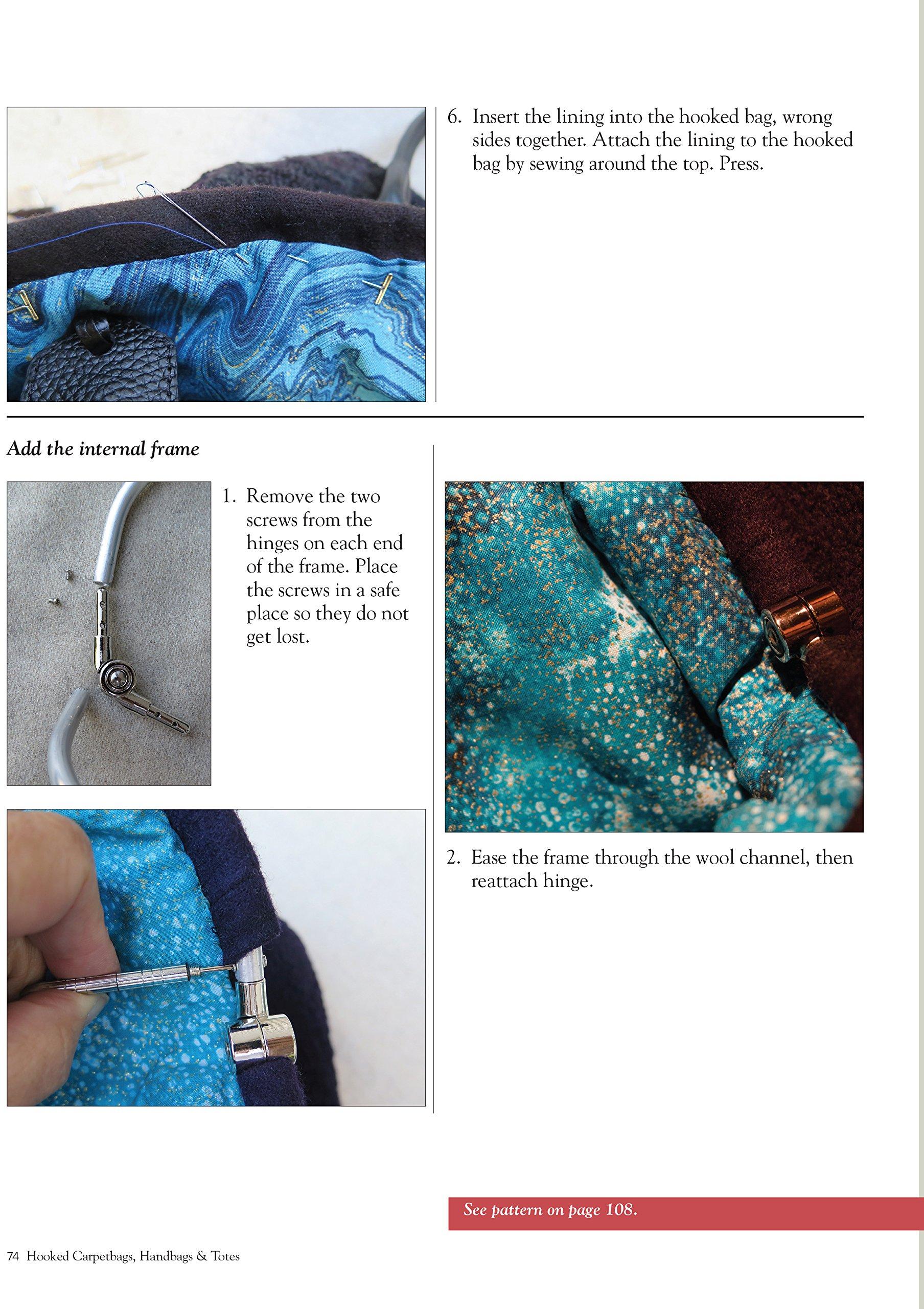 Hooked Carpetbags, Handbags & Totes