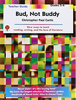 bud not buddy teacher guide complete lesson unit for teaching  bud not buddy teacher guide by novel units inc