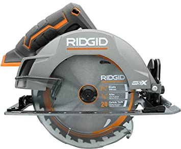 Ridgid Genuine Oem R8652 Gen5x Cordless 18v Lithium Ion Brush Motor 7 1 4 Inch Circular Saw Batteries Not Included Power Tool And Single Blade Only Amazon Ca Tools Home Improvement