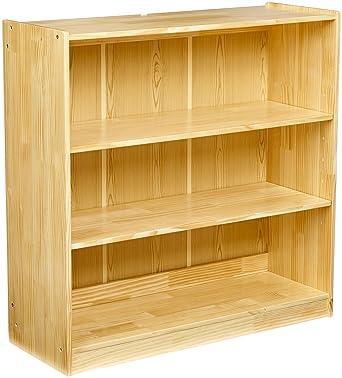 AmazonBasics Wooden Classroom Bookshelf 2 Adjustable Shelf