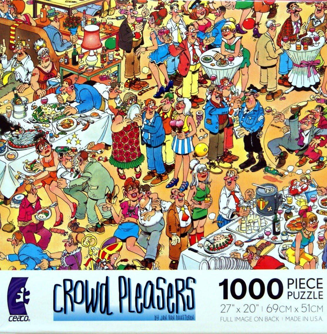 Puzzles Wrinkles Inc Vintage Happy Birthday Puzzle
