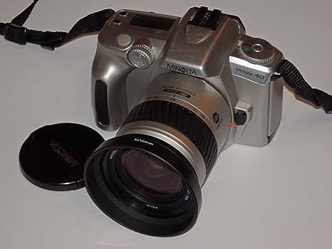 Camera – Minolta Dynax 40 incl. Lente Minolta AF Zoom de 28 – 100 ...
