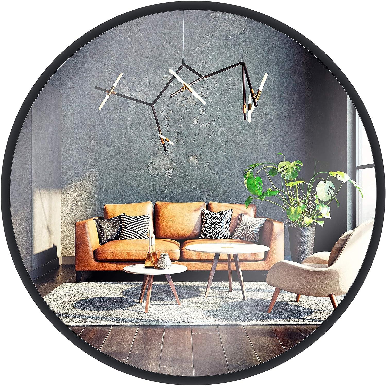 Miroir Mural Gold Chrome
