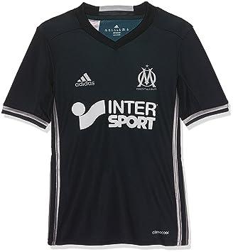 Adidas JSY Y Camiseta 2ª Equipación Olympique de Marsella 2015/16, Niño: Amazon.es: Deportes y aire libre