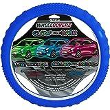 Alpena 10826 Blue Glow in the Dark Steering Wheel Cover