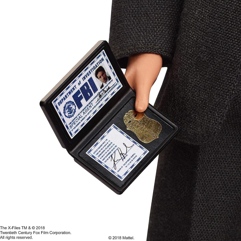 Amazon.es: Barbie Collector, Muñeco Agente Fox Mulder de Expediente X (Mattel FRN94): Juguetes y juegos
