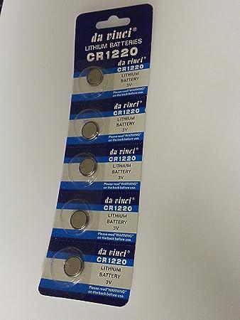 2 Stück VARTA CR1220 CR 1220 Lithium Knopfzelle 3 Volt  Batterie im Blister