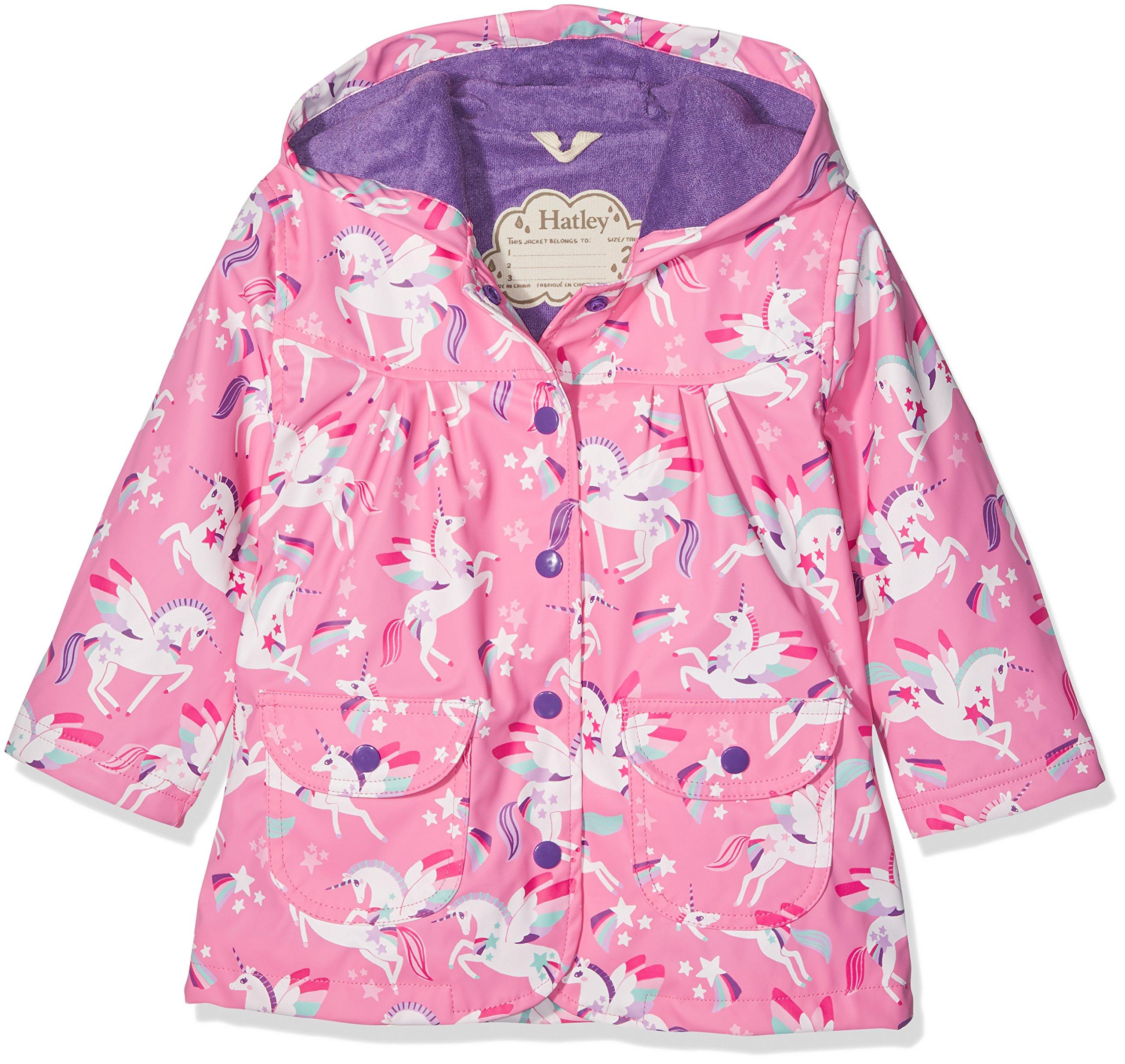 406cc7cf5b12 Galleon - Hatley Little Girls  Printed Raincoats