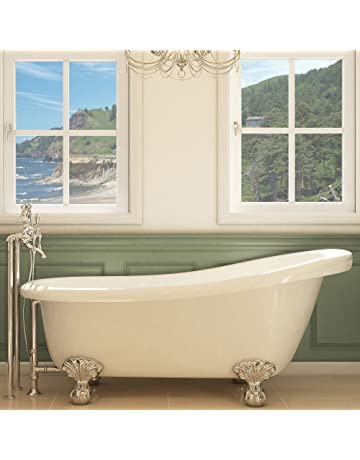 Clawfoot Bathtubs Amazoncom Kitchen Bath Fixtures Bathtubs