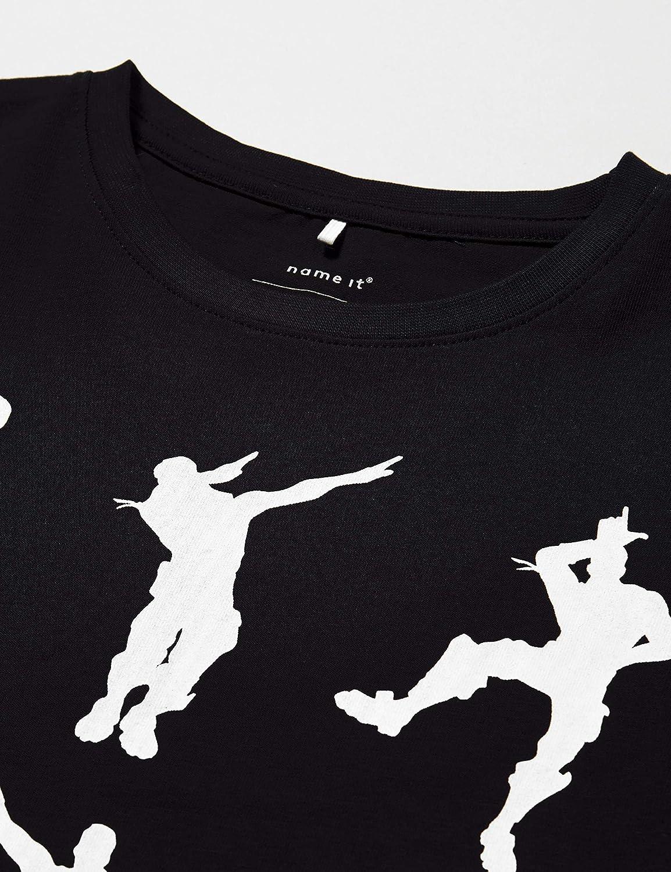 Name It Nkmfortnite Alex SS Top Noos LIC T-Shirt Bambino