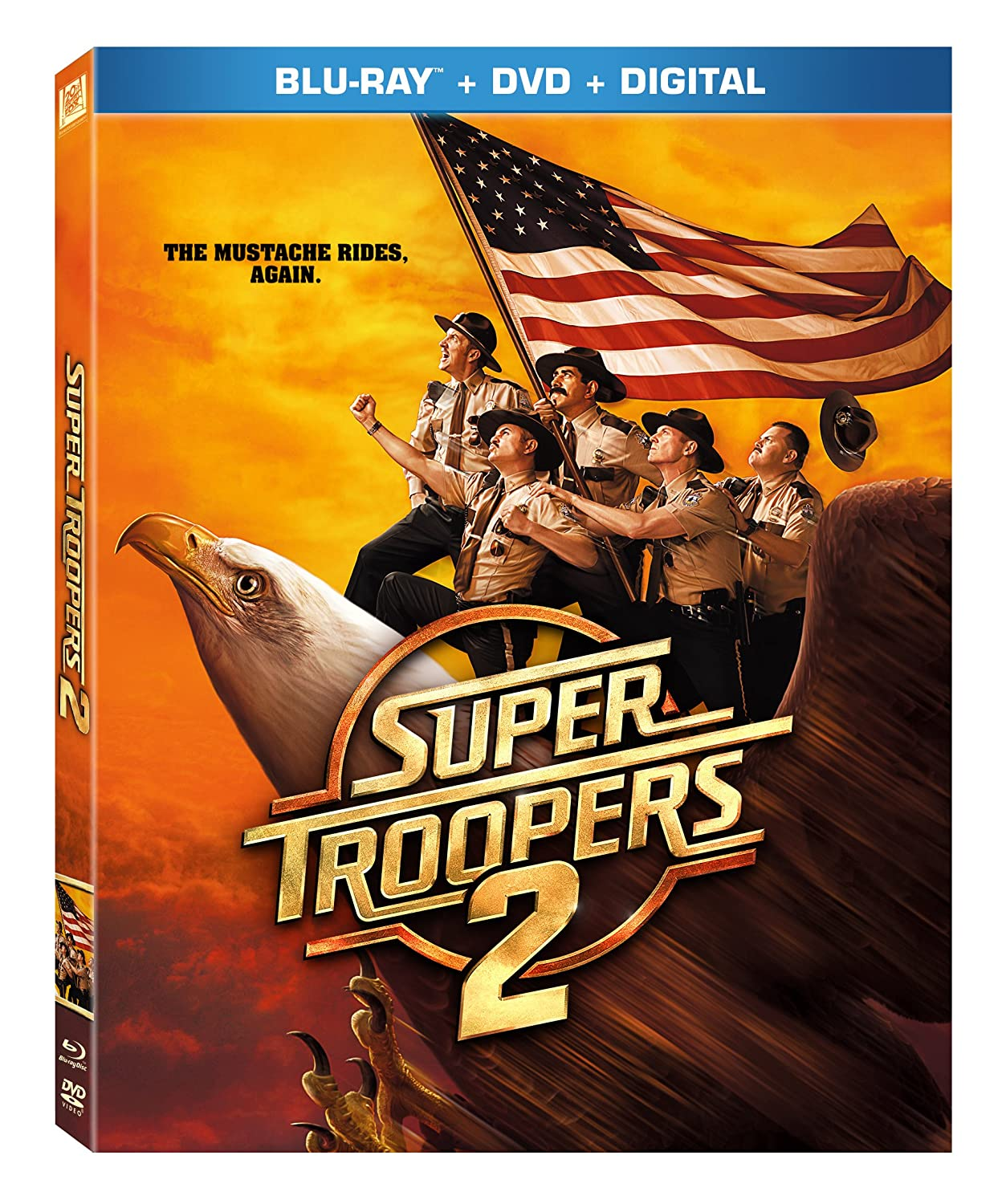 Again Super Troopers 2 Movie Novelty Mustache Costume The Mustache Rides