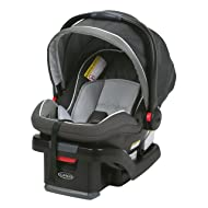 Graco SnugRide SnugLock 35 Infant Car Seat with adjustable base, Tenley, One Size