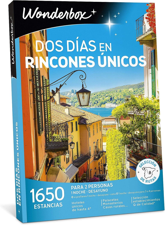 WONDERBOX Caja Regalo - Dos DÍAS EN RINCONES ÚNICOS - 1.650 estancias en España y Europa