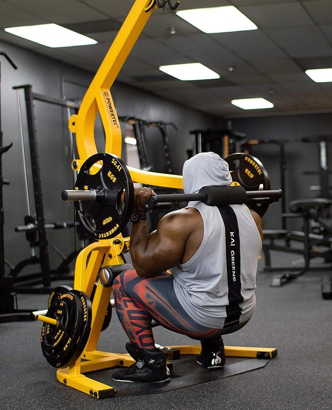 Amazon.com : powertec fitness lever gym work bench black : sports