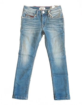 4d2c0cb5 TOMMY HILFIGER Children's Scanton Slim Fit Jeans: Amazon.co.uk: Clothing