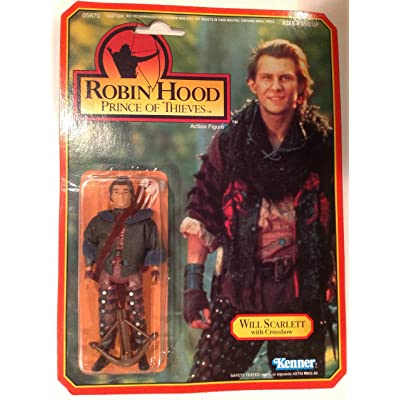 Will Scarlett 1991 Robin Hood Prince of Thieves Action Figure: Toys & Games
